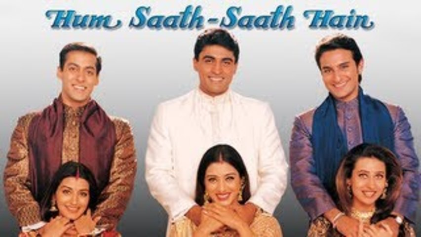 Watch Hum Saath Saath Hain With Me Sunday Feb 5 1am Gmt Dontcallitbollywood