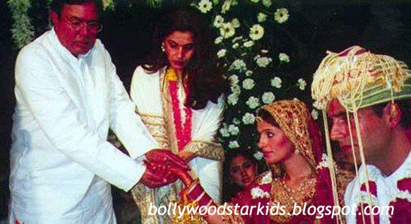 Image result for rajesh khanna twinkle wedding