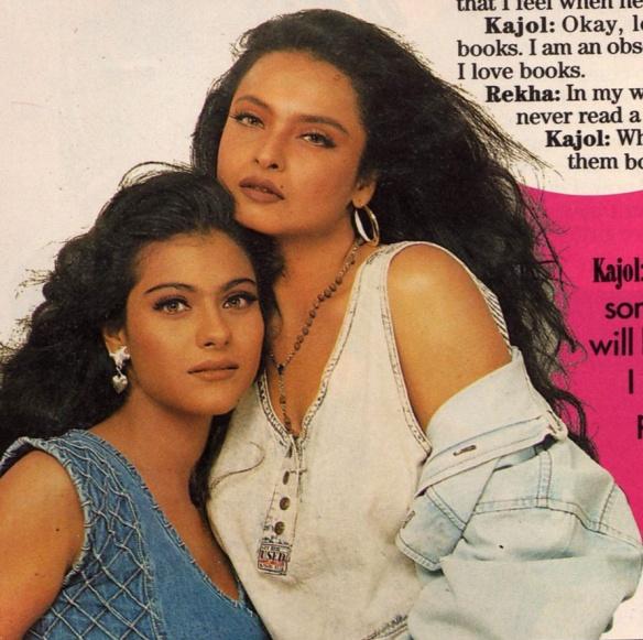 Image result for rekha kajol
