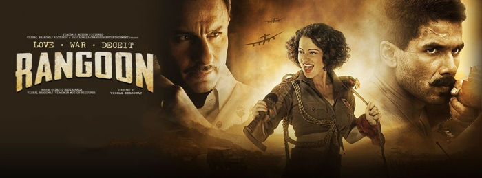 Rangoon Review (No SPOILERS): The Madame Tussaud's Wax Figure Version of an Actual GoodMovie
