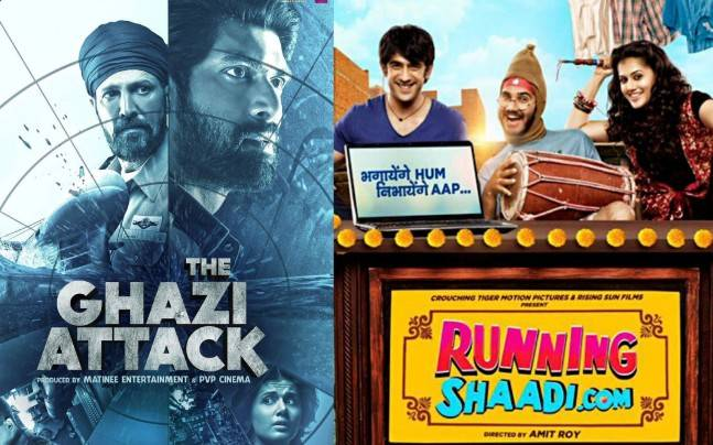 Box Office Report: Apparently, I Am the Only Person Who Liked Running Shaadi Better than The GhaziAttack