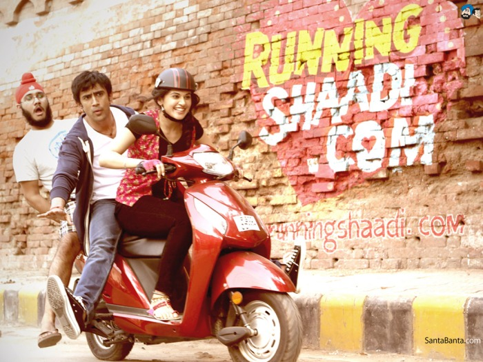 Running Shaadi Review (SPOILERS): Bam!  First Five Minutes, They Break the Rom-ComMold!