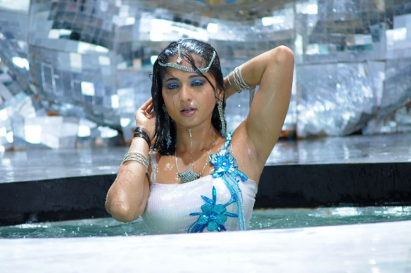 Image result for anushka shetty wet hair