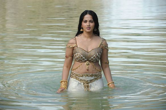 Image result for anushka shetty wet