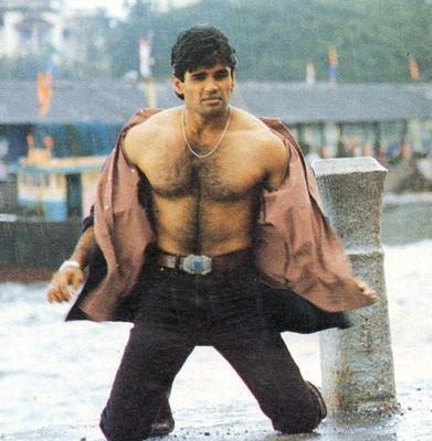 Image result for sunil shetty shirtless