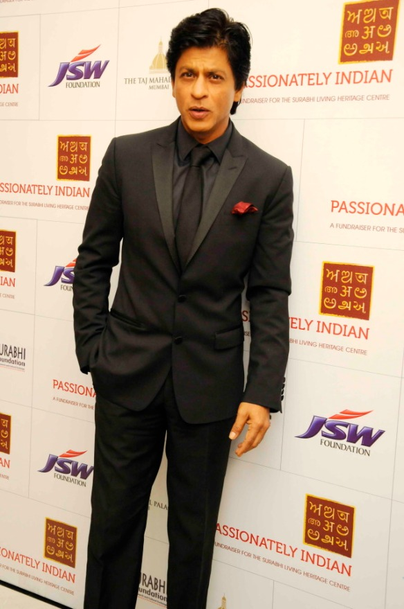 Image result for shahrukh khan in black