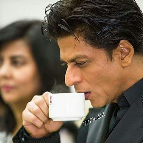 Image result for shahrukh khan coffee
