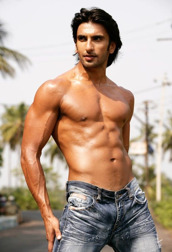 Image result for ranveer singh shirtless