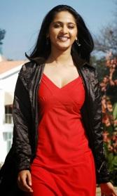 Image result for anushka shetty red