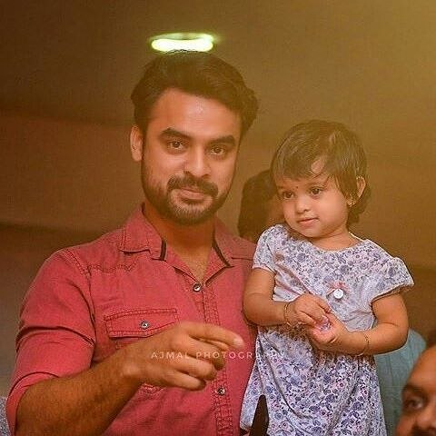 Image result for tovino thomas daughter