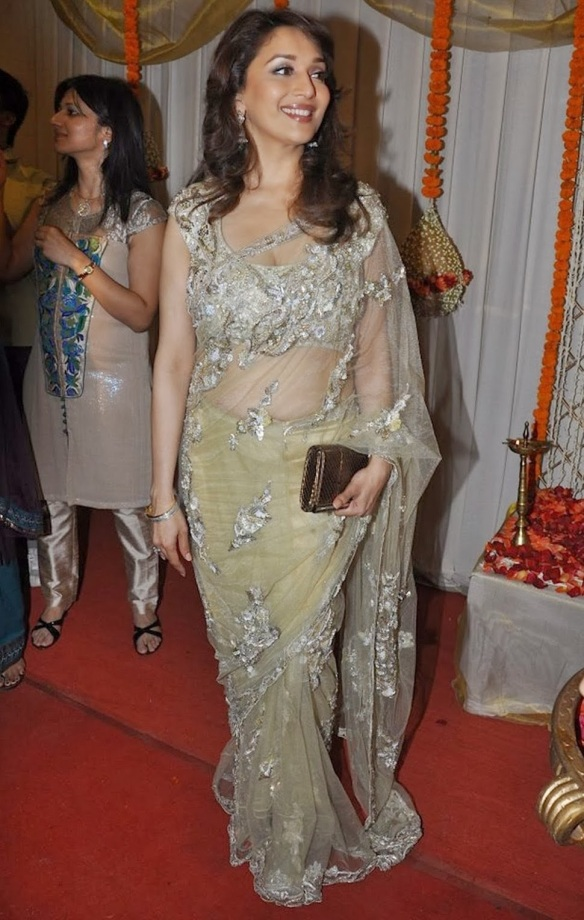 Image result for madhuri dixit saree