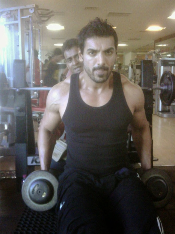 Image result for john abraham gym
