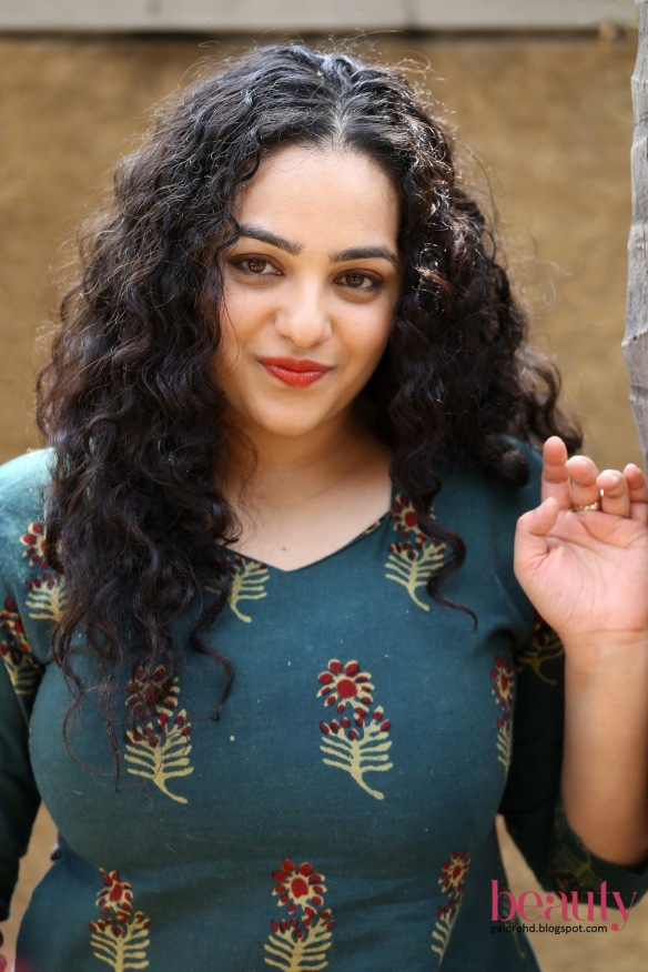 Image result for nithya menon curls