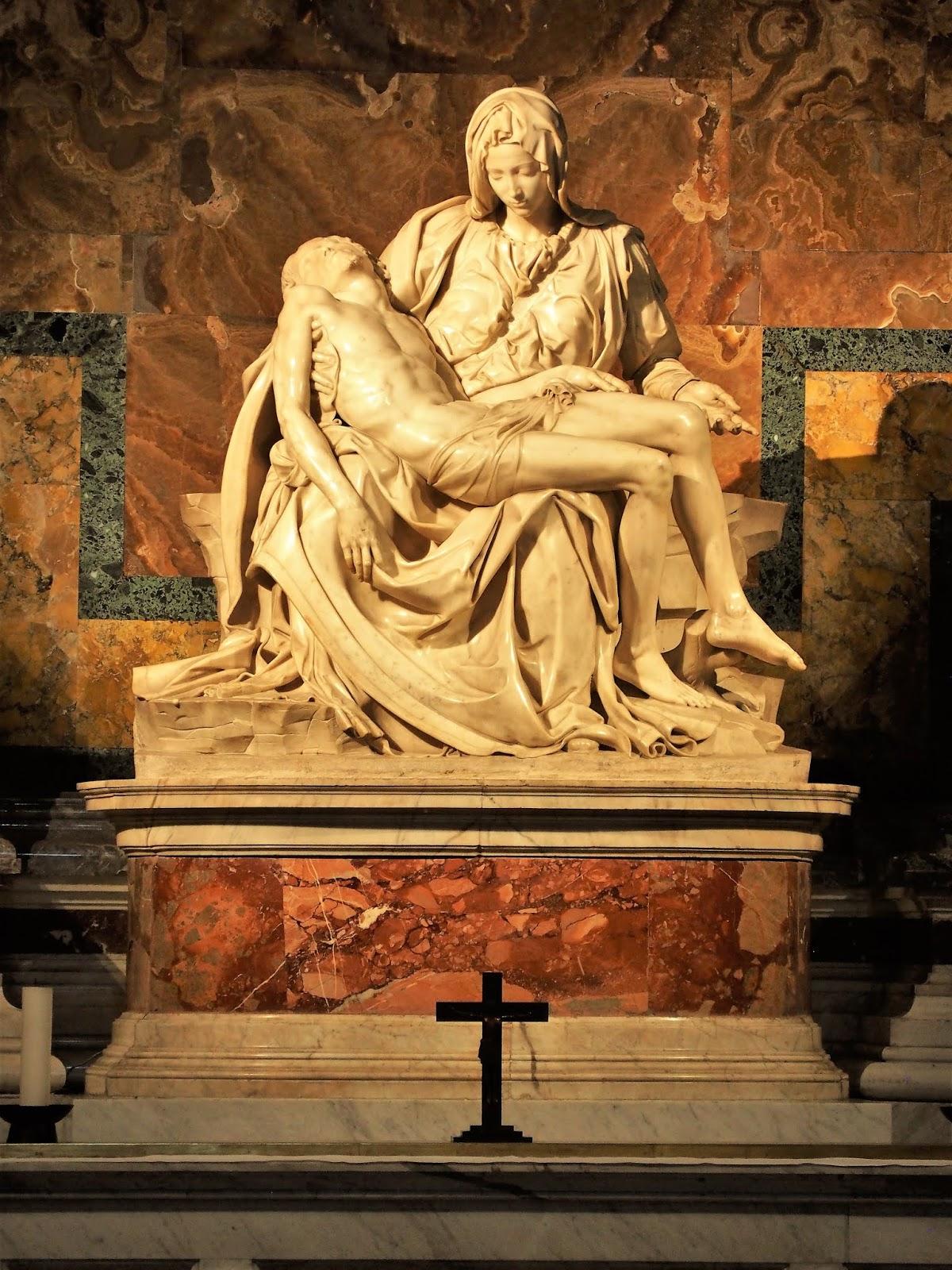 Stuff in the Basement: Italy xxi--Michelangelo's Piata